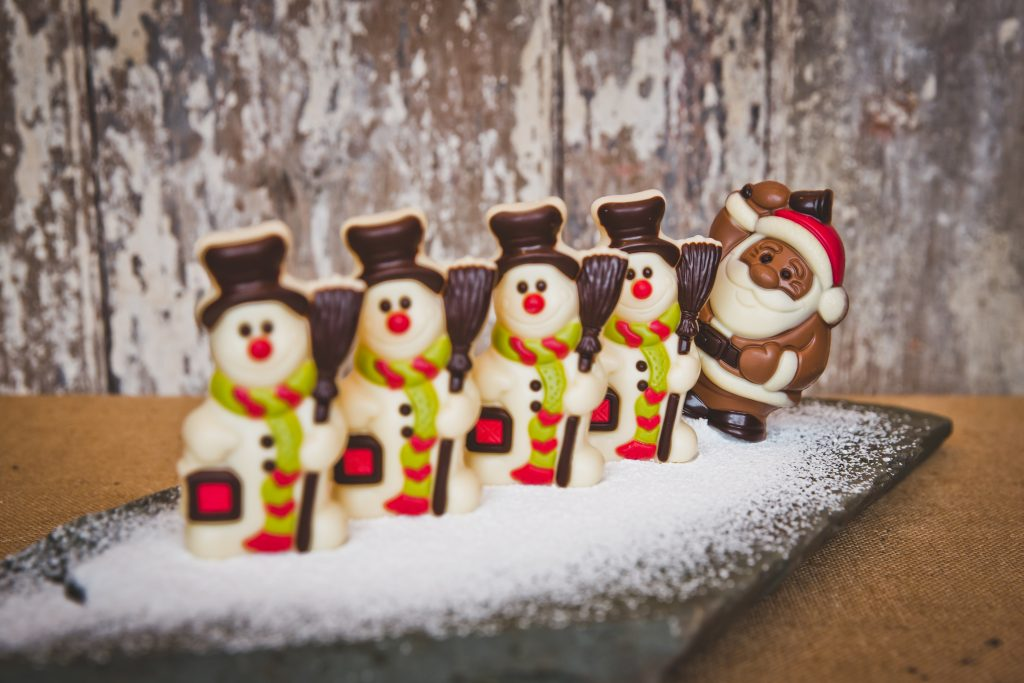 Christmas Snowmen Chocolate
