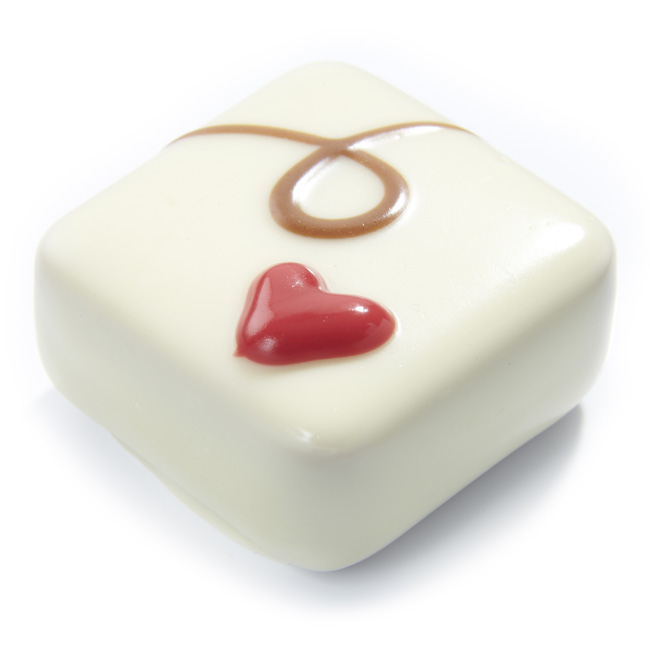 White Raspberry Square