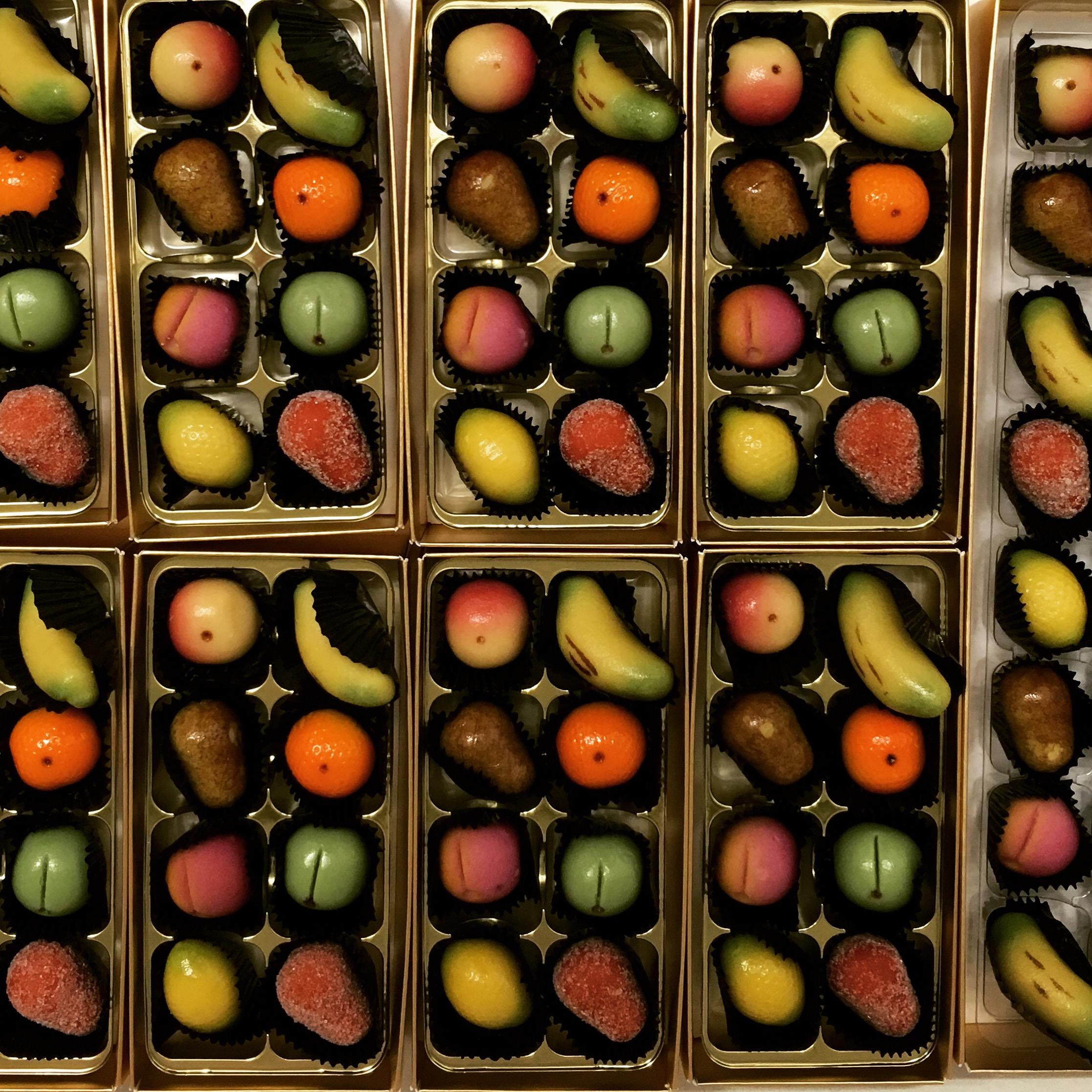Marzipan Fruit Medley