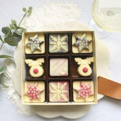 Snowflake & Reindeer Box