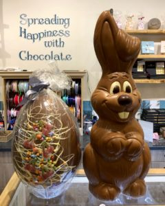 Giant Chocolate Bunny & Egg