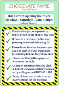 Covid Opening Hours