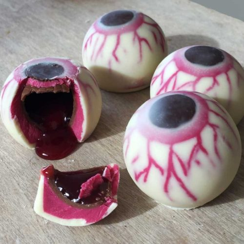 Chocolate Eyeballs Contents